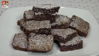 Brownies de Nutella - con 4 Ingredientes - Recetas en Casayfamiliatv