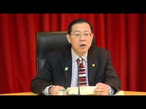 Guan Eng- Malaysia #1 in the world in terms of illicit funds