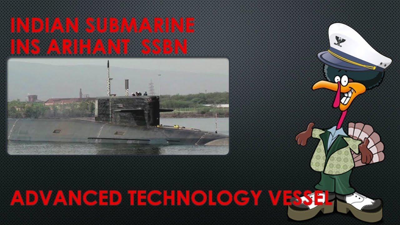 India Submarine INS Arihant SSBN
