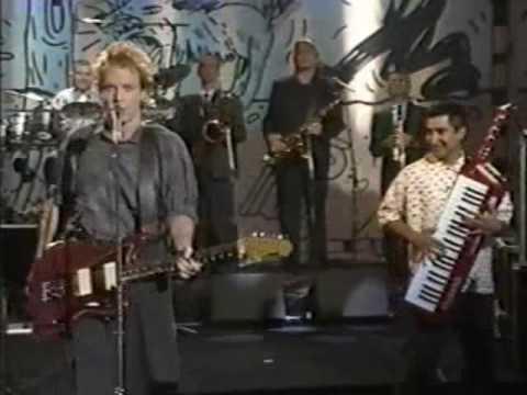 """""""Dead Man's Party""""-Oingo Boingo on Joan Rivers Show (1987)"""