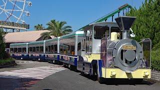 6両編成の牽引バス「ケニア号」に乗車
