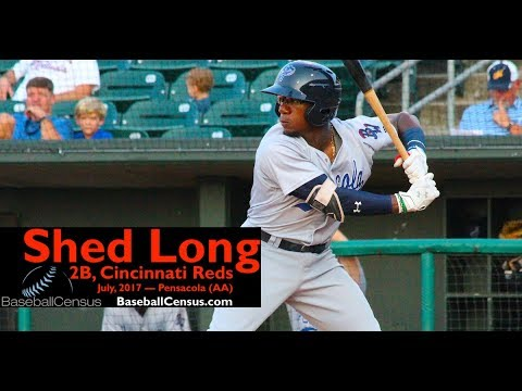 Shed Long, 2B, Cincinnati Reds