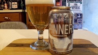 Oskar Blues Pinner Throwback IPA (4.9% ABV) DJs BrewTube Beer Review #796
