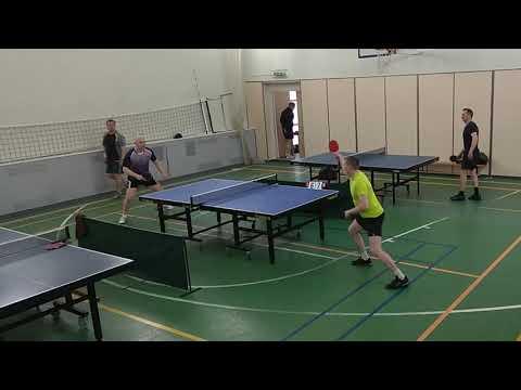 финал отборочного тура Гуккин Д.(359)-Веретенников М.(272) 02.05.2021 турнир по настольному теннису