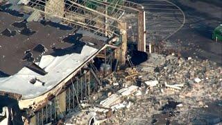 Pennsylvanie : des bâtiments et véhicules endommagés après le passage d'une tornade