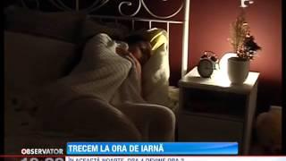 Romania trece in aceasta noapte la ora oficiala de iarna