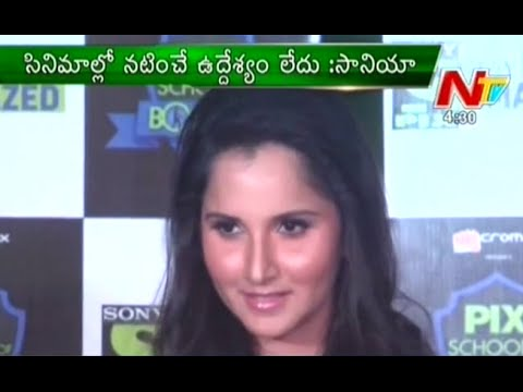 I'M Not Interested in Movies - Sania Mirza