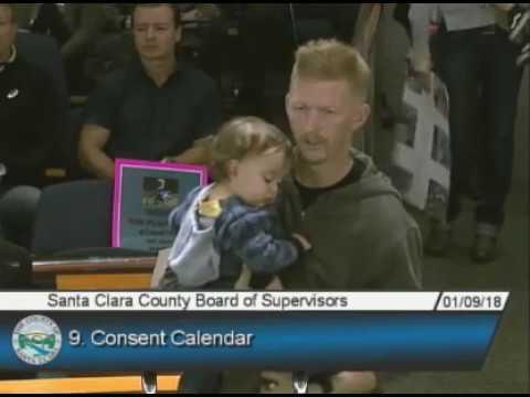 408MX - Santa Clara County Board of Supervisors meeting 01/09/18
