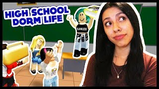 FIRST DAY OF SCHOOL WAS THE WORST! - ROBLOX HIGH SCHOOL DORM LIFE