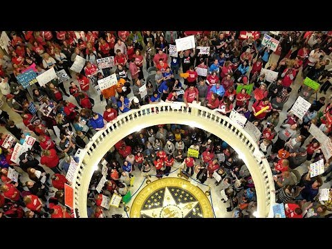 Teachers in Revolt: Meet the Educators in Kentucky & Oklahoma Walking Out over School Funding