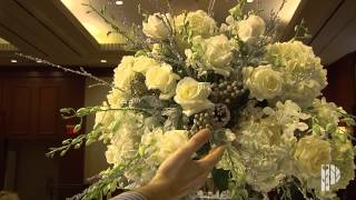Part 2 of 4: Wedding Flowers Behind the Scenes, Centerpieces(Watch how our custom centerpieces come together for a beautiful wedding reception., 2013-04-27T02:20:07.000Z)
