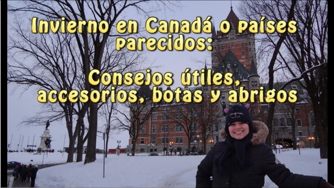 Abrigos para invierno en canada