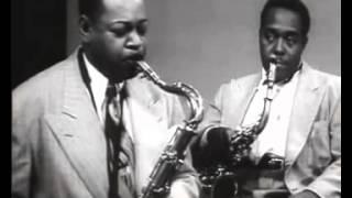 Charlie Parker and Coleman Hawkins 1950