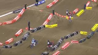 Supercross Round #6 250SX Highlights | Indianapolis, IN, Lucas Oil Stadium | Feb 6, 2021