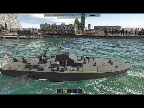 United States Nasty-class patrol boat ( WAR THUNDER NAVAL FORCES )