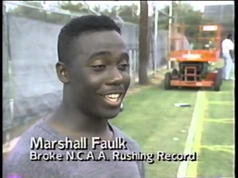 Marshall Faulk, Pacific vs, SDSU post game, 1991