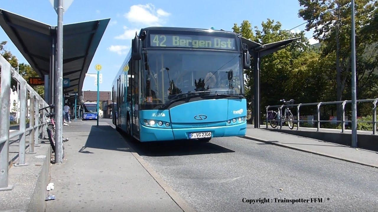 Linie 42 nach Bergen Ost (Bus-Frankfurt/Main ...