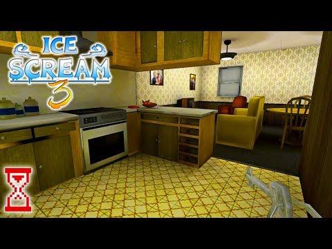 Стрим Прохождение Мороженщика 3   Ice Scream 3