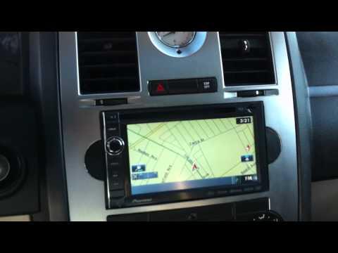2006 Chrysler 300C SRT8 Pioneer Avic-X930BT Navigation Bluetooth Iphone