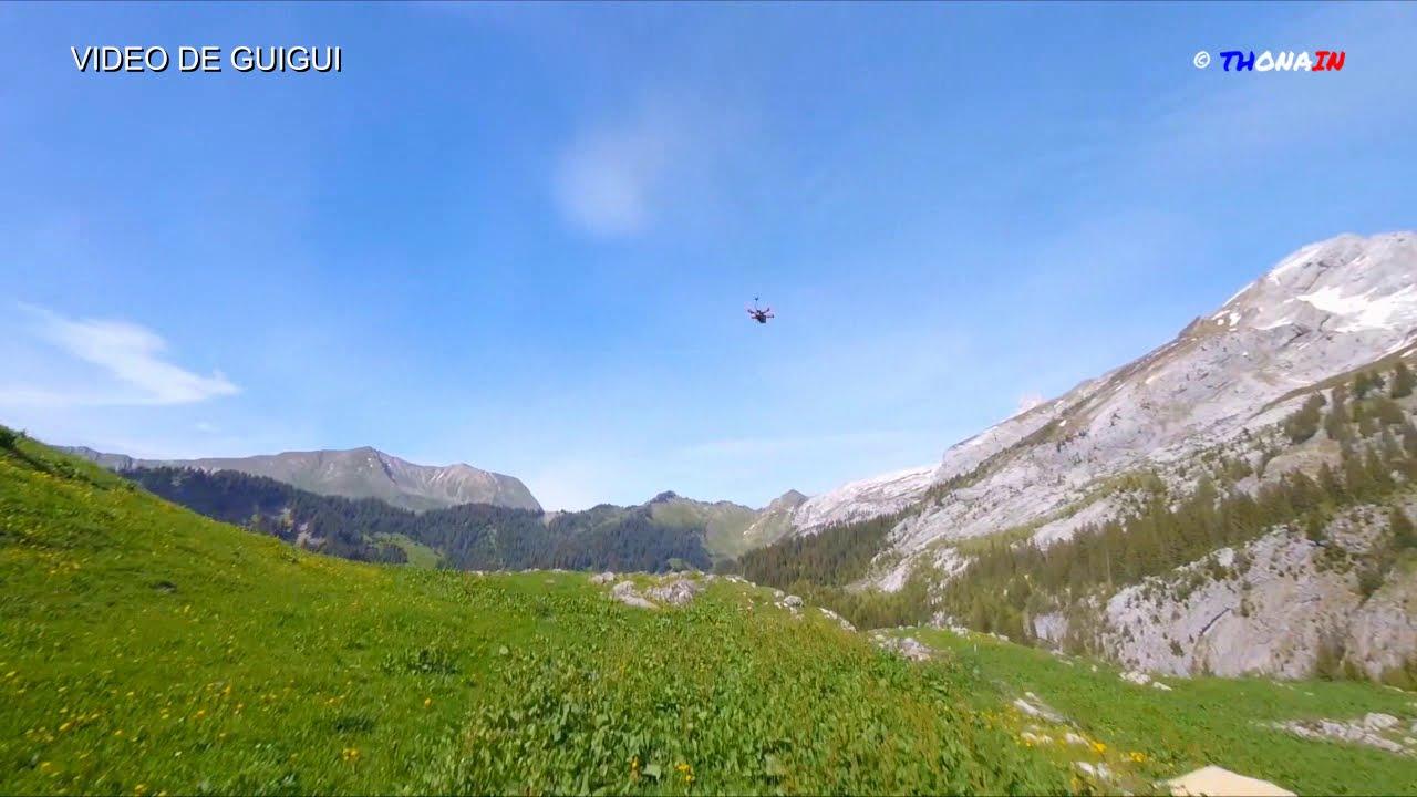 MINI DRONES IN FRENCH ALPS - LA CLUSAZ- FPV CAM ONBOARD фото