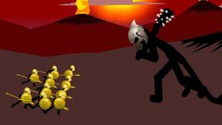 The Final BOSS vs 10 GOLDEN Speartons | Insane MODE Campaign | Stick War Legacy