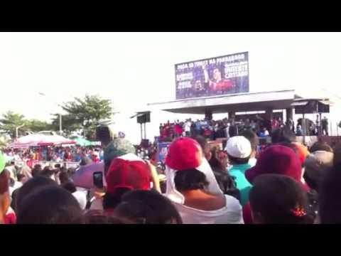 Duterte at Ormoc city