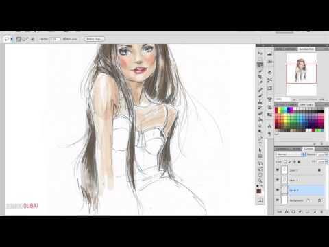 Digital Fashion Illustration Demo