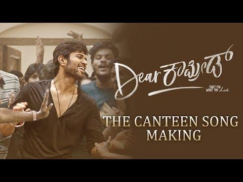 Dear Comrade Kannada - Canteen Song Making | Vijay Deverakonda | Rashmika | Bharat Kamma