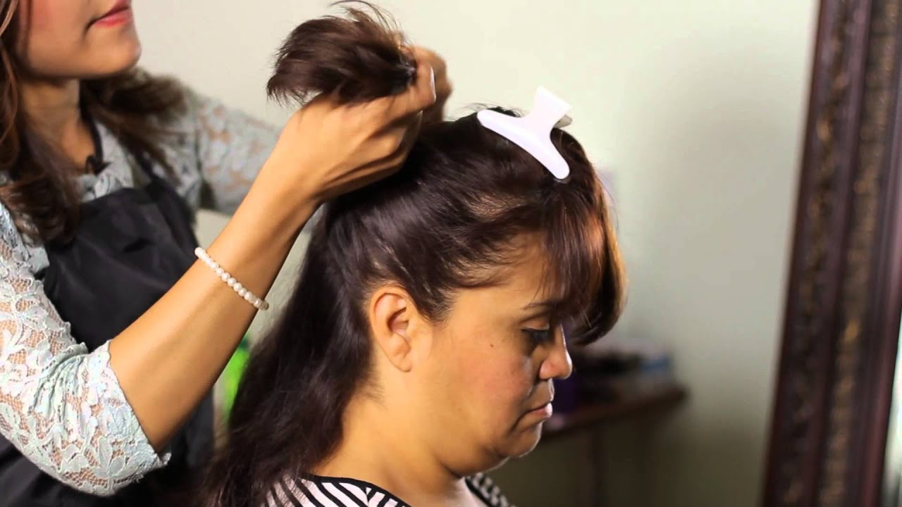 How To Create An Old Fashioned Hairstyle With A Bun Spiral Curls
