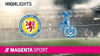 Eintracht Braunschweig - MSV Duisburg | Spieltag 4, 19/20 | MAGENTA SPORT