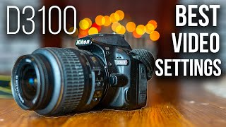 Nikon D3100 Best Settings For Video // How To Set Up D3100 For Video (With Test Footage)