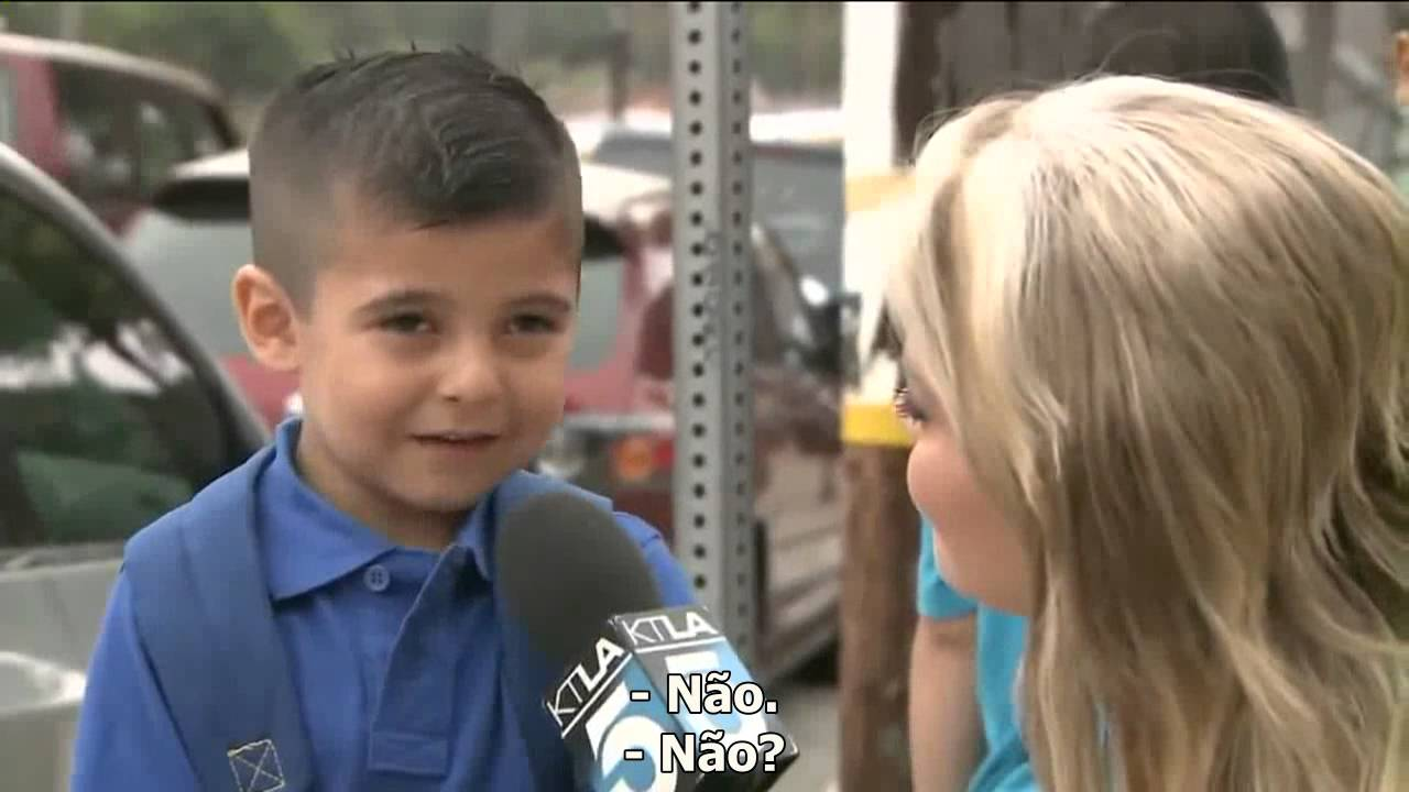 Little Kid Interview Cry