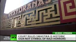 Swastikas in  Lithuanian Shools -- tribute to history or Nazi revival?