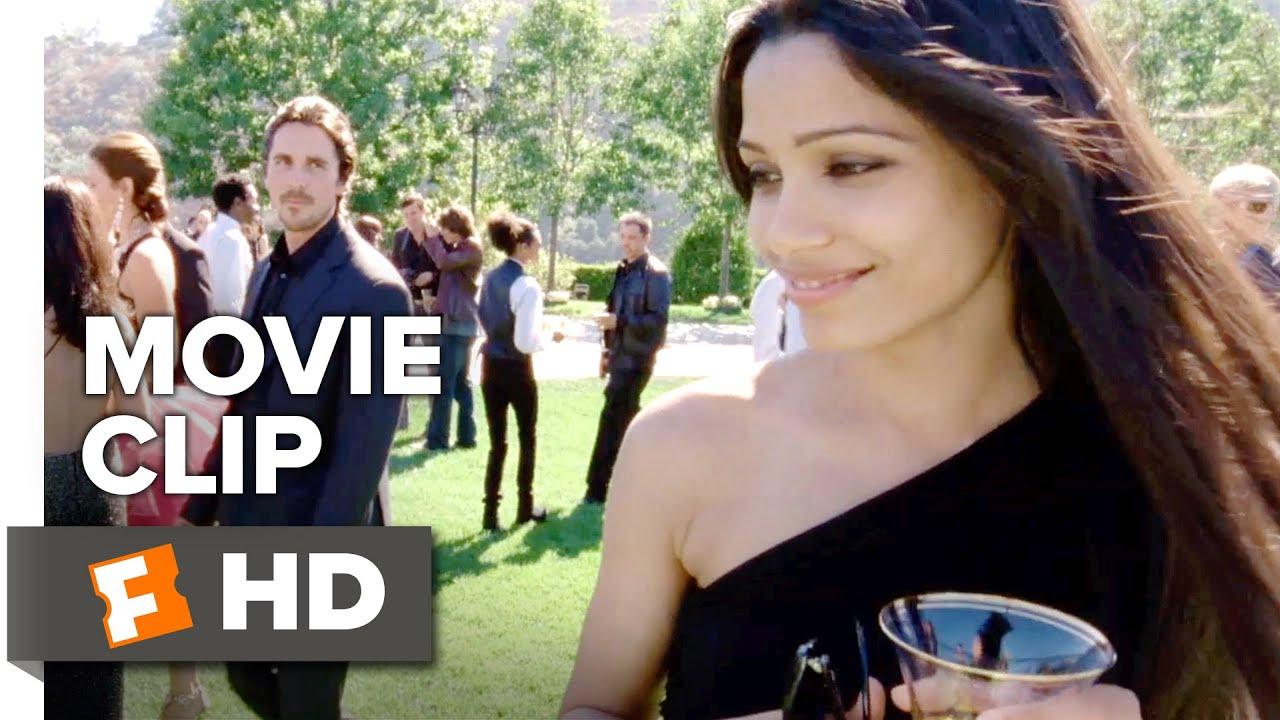 Knight of Cups Movie CLIP - Helen (2015) - Christian Bale, Freida Pinto  Movie HD