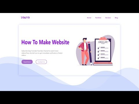 How To Create Website Using HTML CSS Bootstrap | Responsive Website Development Tutorials thumbnail