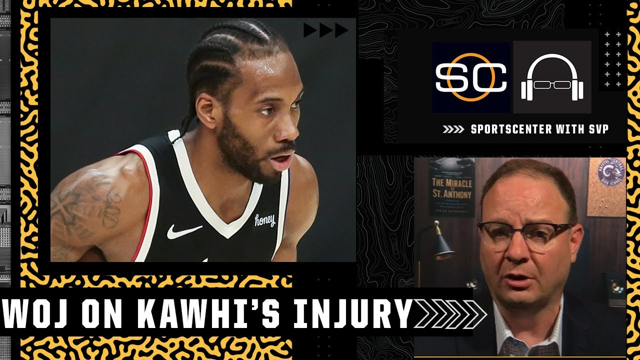 Kawhi Leonard is unlikely to return quickly from this injury - Woj   SC with SVP