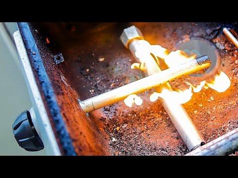 🍗🔥 Газовые Трубки - Горелки для Мангала Барбекю Своими Руками
