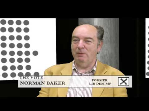 The Vote - Norman Baker on Working with Theresa May