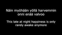 Jenni Vartiainen - Duran Duran w/ English and Finnish lyrics