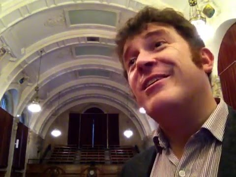Dr Chris Collins, Head of School of Music, Bangor University 2015