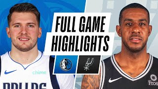 Game Recap: Mavericks 122, Spurs 117