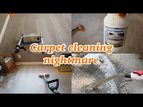 A Carpet Cleaners BIGGEST Fear ... Cleaning Carpets Full Of RESIDUE