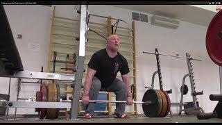 "Тяжелая атлетика ""245 тяга + взлет штанги""#WEIGHTLIFTING"