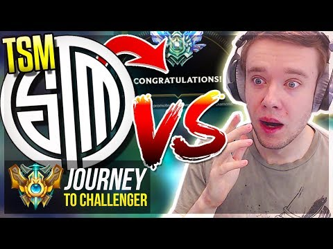 REDMERCY VS TSM PLAYER! THEN IT HAPPENED..!!- Journey To Challenger | League of Legends thumbnail