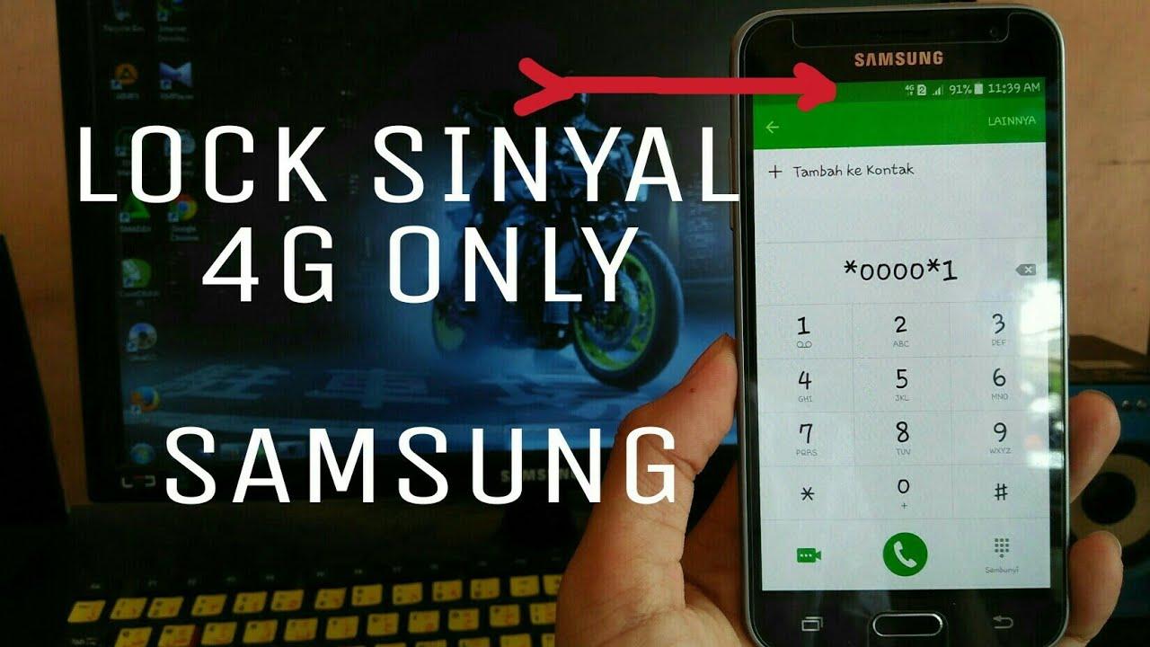 Cara Kunci Jaringan 4G Samsung dengan Aplikasi