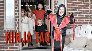 NINJA TAG in our House!