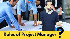 Project Manager - Roles and Responsibilities in Civil Engineering Projects.