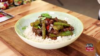 Βοδινό φιλέτο με Σπαράγγια και Ασιατική Σάλτσα