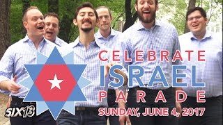 Six13 - Celebrate! (NYC Celebrate Israel Parade Theme)