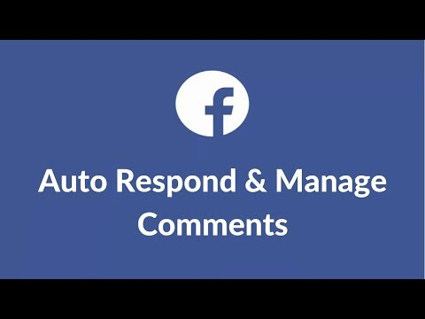 Auto Reply Comment Facebook Page